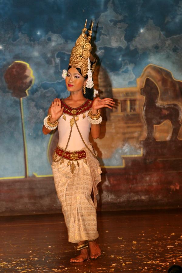 Apsara dancer Siem Reap Cambodia