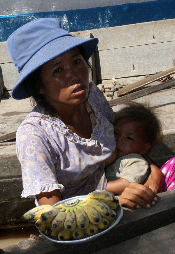 Lake Tonle Sap, Great Lake of Cambodia and the floating village, The Kingdom of Cambodia